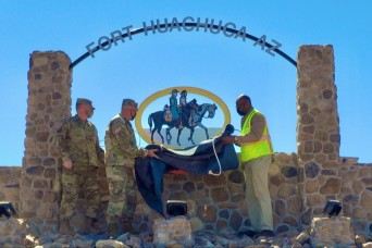 Fort Report: New gate sign unveiled