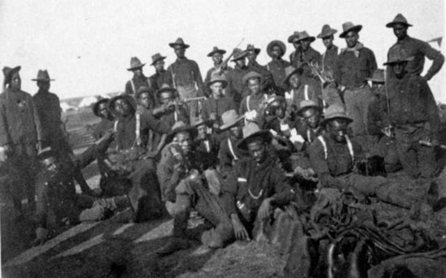 Buffalo Soldiers in the Spanish-American War (1898)