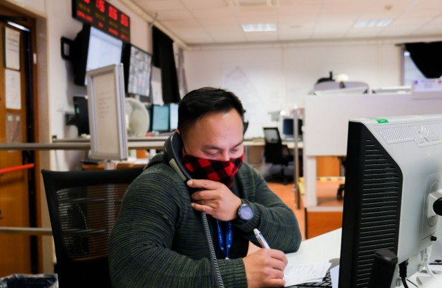 Emergency operations center, heartbeat of USAG Italy's COVID-19 response