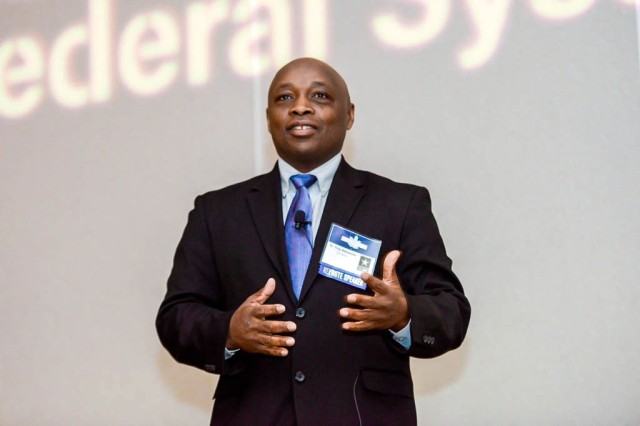 Dr. Troy Alexander serves as chief of the Technology Forecasting Office at U.S. Army Combat Capabilities Development Command, known as DEVCOM, Army Research Laboratory–the Army's Corporate Laboratory.