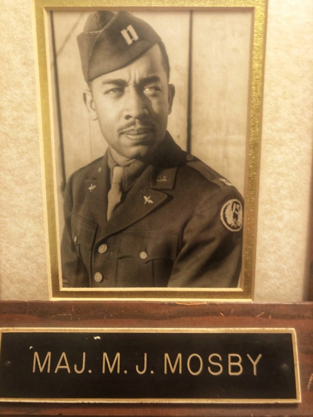 During the session, 402nd AFSB executive officer, Lt. Col. Detrice Mosby, shared about her family's Army legacy. The grandfather of Mosby's husband served as a human resources and finance officer for the Tuskegee Airmen