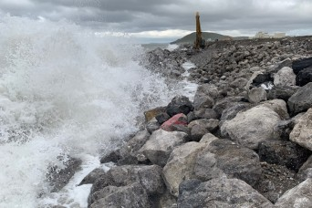 Project Manager Reflects on Austere Conditions at Cape Lisburne, Mission Success for Seawall Construction