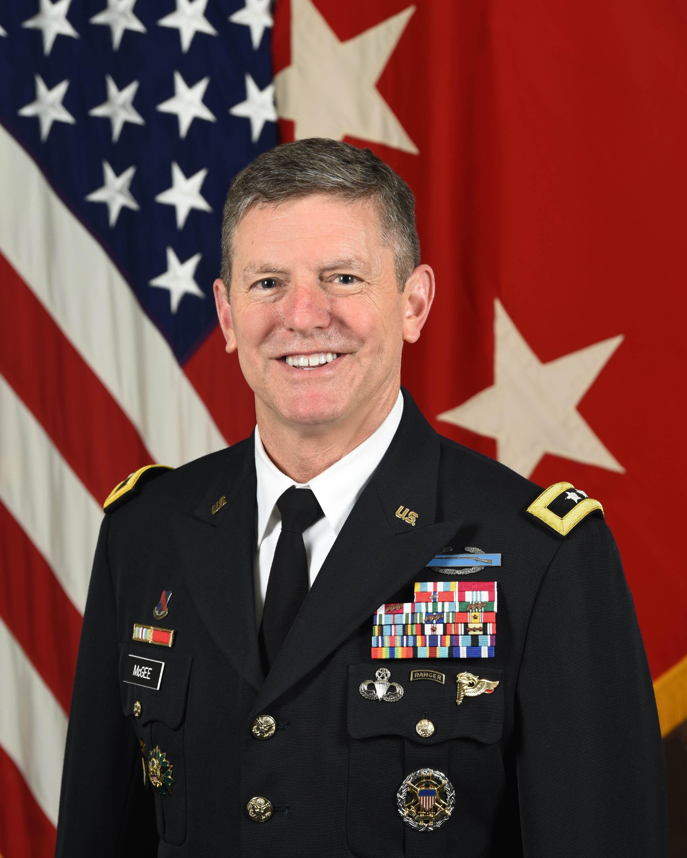 Maj. Gen. Joseph P. McGee