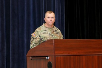 USAIS changes command sergeants major