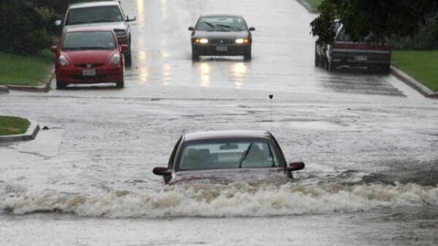 Flooding can happen at any time, anywhere