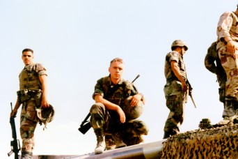 AMC's senior NCO reflects on the power of leadership, relationships during Desert Storm deployment