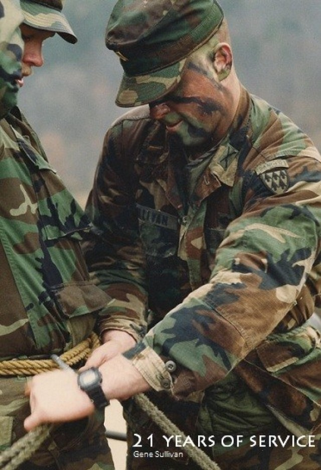 Army experience, knowledge makes S3 chief a respected leader