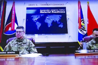 ASC virtual town hall addresses Army modernization, COVID-19 shots, teleworking, much more