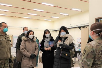 ROK-US Medical Alliance Strengthens During COVID-19 Vaccine Operations in Korea