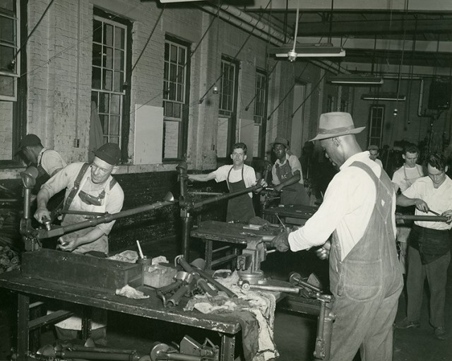 Production line at Augusta Arsenal, Georgia