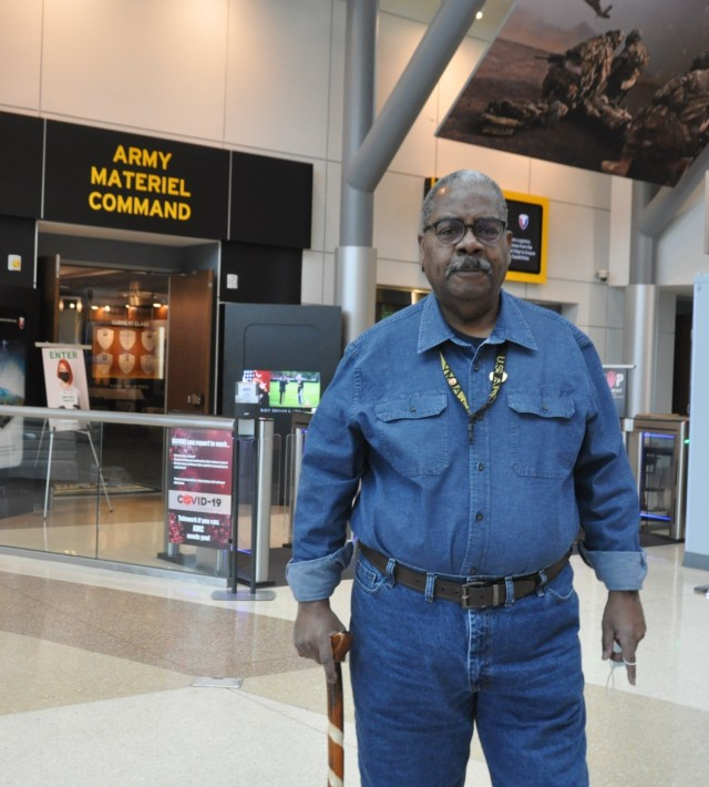 Vietnam-era veteran David Lewis continues to serve the nation as a Department of the Army civilian at the Army Materiel Command. He is being recognized by AMC's Vietnam Veteran Commemoration Program.