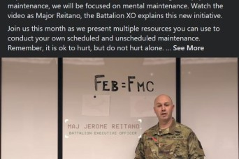3rd MI Battalion Highlights Ways to Keep their Soldiers FMC