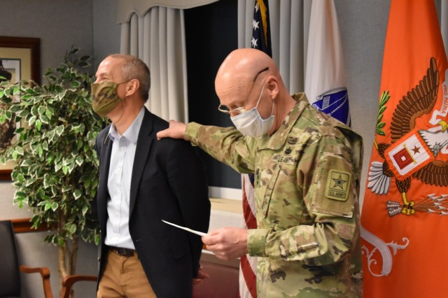 ARMY CIO AND G-6 BID FAREWELL TO DEPUTY CIO GREG GARCIA