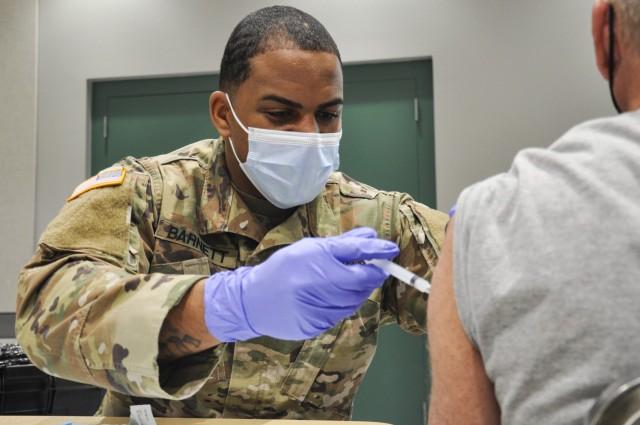 Nevada Guard leads COVID-19 vaccination effort in Las Vegas