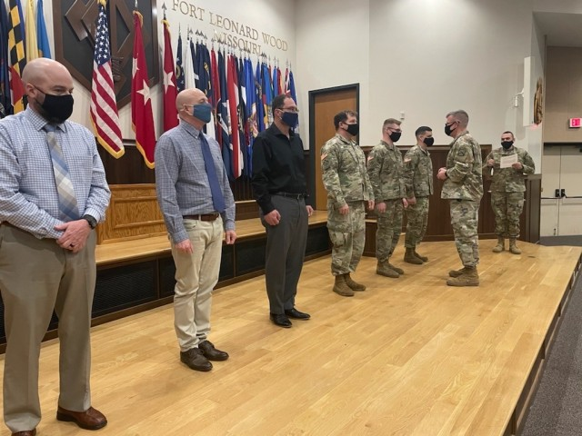 CAC CG visits Fort Leonard Wood, hosts professional development events