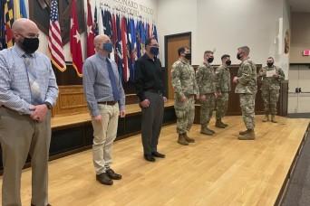 CAC CG visits Fort Leonard Wood, hosts professional development events