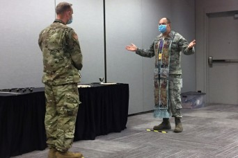 Air Guard Religious Support Team aids Javits Center mission