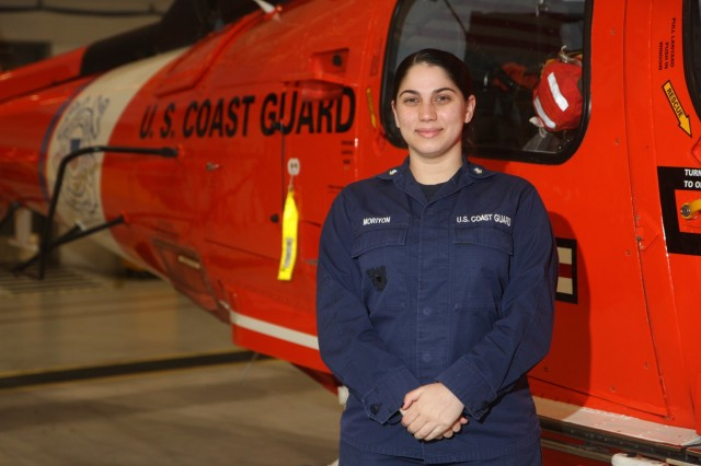 "U.S. Coast Guard Petty Officer 3rd Class Krystal Moriyon, a health services technician assigned to the Coast Guard Air Station Savannah Medical Clinic at Hunter Army Airfield, Georgia, is a Miami native. She graduated from John A. Ferguson High School in 2013 and is currently attending American Military University. She is earning her bachelor's degree in healthcare administration. ""I joined the Coast Guard because I wanted to be more independent and grow. I also wanted to travel and experience the world. As a proud Hispanic female, I especially wanted to show others that you can accomplish whatever you set your mind to no matter the challenges you may face."" (U.S. Army photo by Spc. Daniel Thompson)"