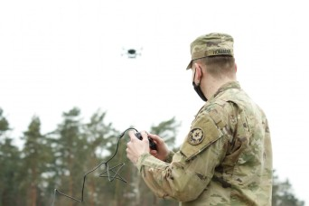 Dragoons take to the skies with new drone