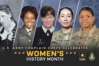 Thoughts from members of the United States Army Chaplain Corps during Women's History Month
