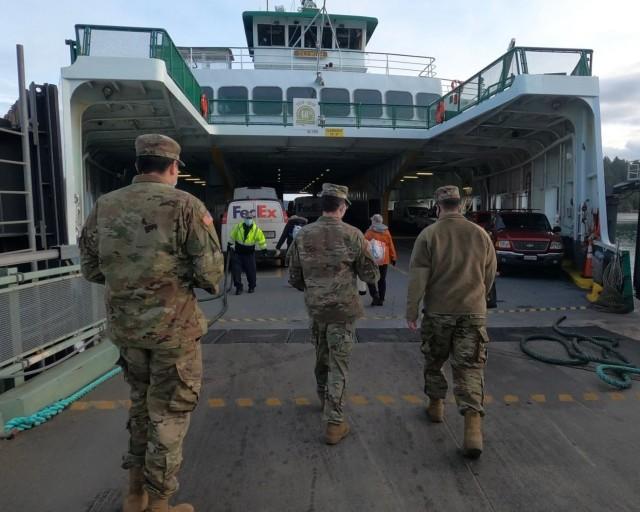 Guard's mobile team vaccinates residents of San Juan Islands