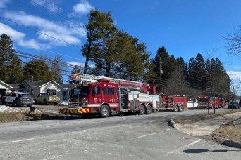 Depot Fire Department helps local resident extinguish house fire