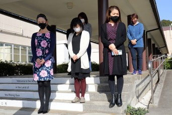 USAG Japan observes six minutes of silence in commemoration of 3/11 earthquake
