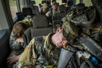 Sleep disorders mean poorer health, less-resilient Soldiers