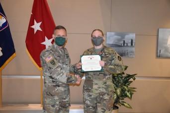 1st Space Brigade Senior NCO awarded Bronze Star
