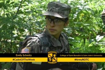 Cadet of the Week: Emily Schmitz