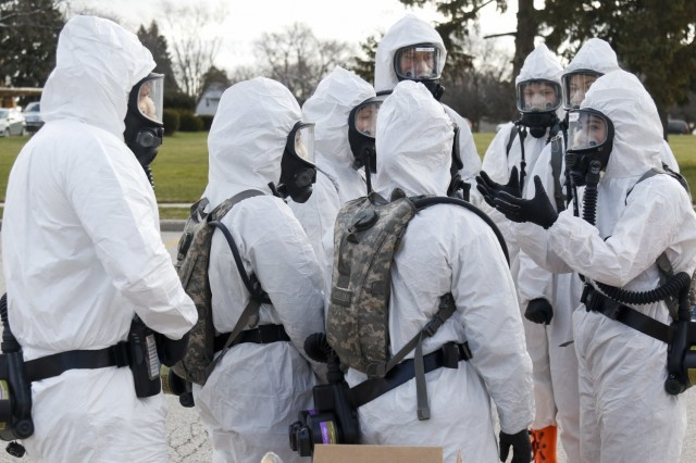 Wisconsin Guard marks first anniversary of COVID response