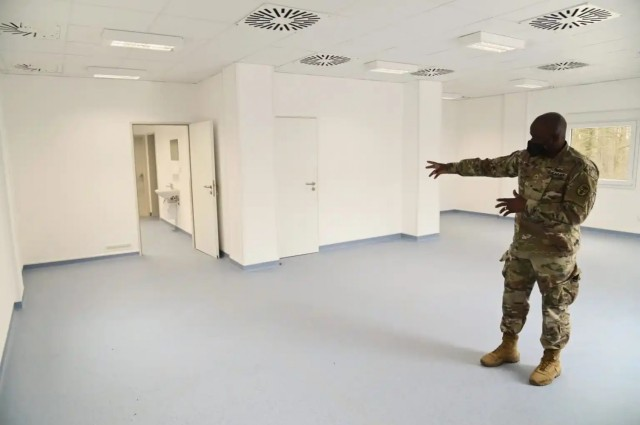USAHC Stuttgart adds new facility to its COVID-19 fight toolkit