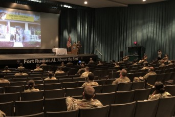 Sergeant Major of the Army visits Fort Rucker, discusses quality of life