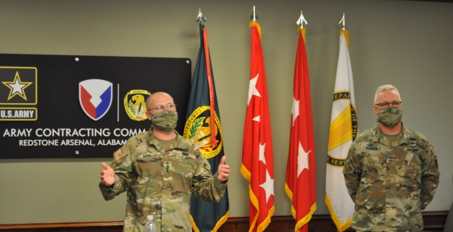 Gen. Daly, Commanding General for U.S. Army Materiel Command,  provided opening remarks about ACC's continued efforts in supporting Project Inclusion as well as its efforts to fight COVID-19 Mar. 9