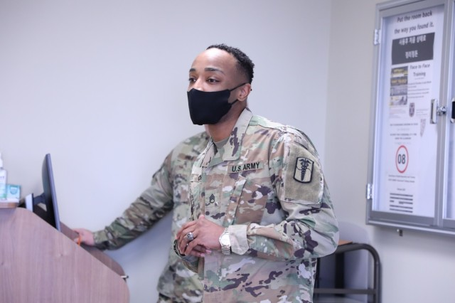 Crain emphasized that he is a firm believer of self-improvement and self-empowerment and believes that education is a strong piece to the Whole Soldier concept. It counts towards Soldiers promotion and career progression in the military.