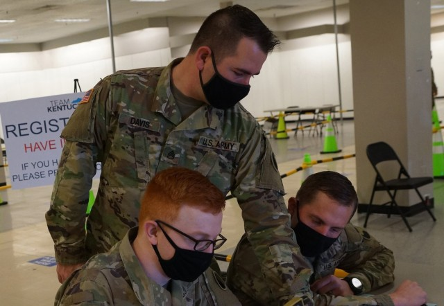 Kentucky National Guard assists with vaccine rollout