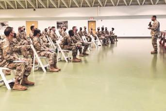 3rd Battalion, 10th Infantry Regiment hosts forum for newest officers