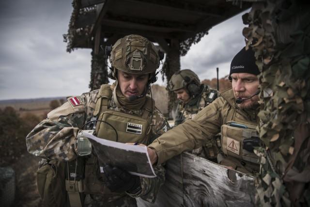 Michigan National Guard think tank boosts Latvian partnership