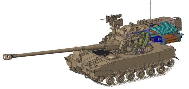 Autoloader System speeds artillery firing capability
