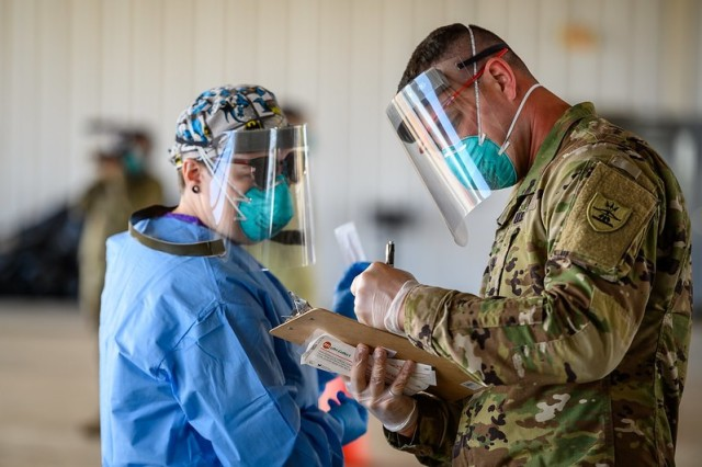 North Dakota National Guard marks year of COVID-19 response