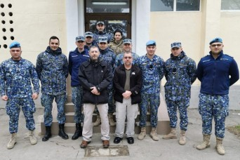 Tobyhanna personnel train Romanian Air Force