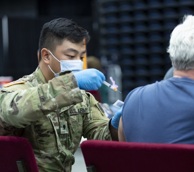 Oklahoma National Guard assists with COVID-19 vaccinations