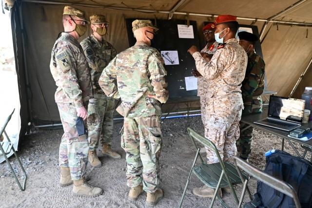 CJTF-HOA, Djiboutian military partner in 4-day signal exercise