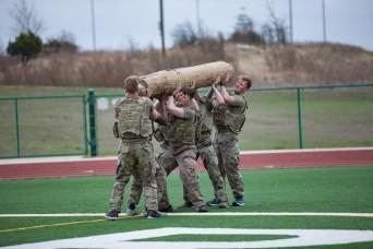'Thunder Games' builds teamwork, resiliency for Brave Rifles