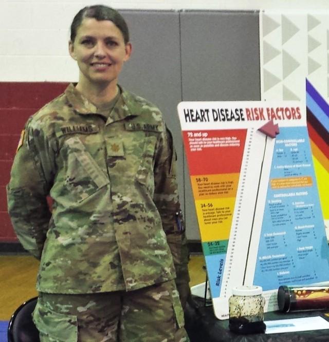 Army Occupational Health nurse improves health program