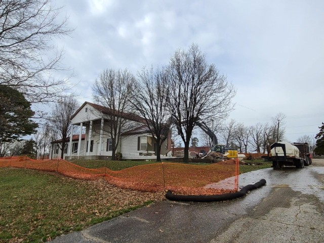 Demolition of Bldg. 430 continues