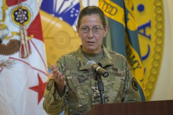Army Reserve chief blazing trail for women
