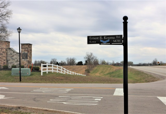 Kouma's legacy lives on in Radcliff, Ky., where a street has been named in his honor.