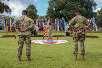 8th TSC conducts a change of responsibility ceremony