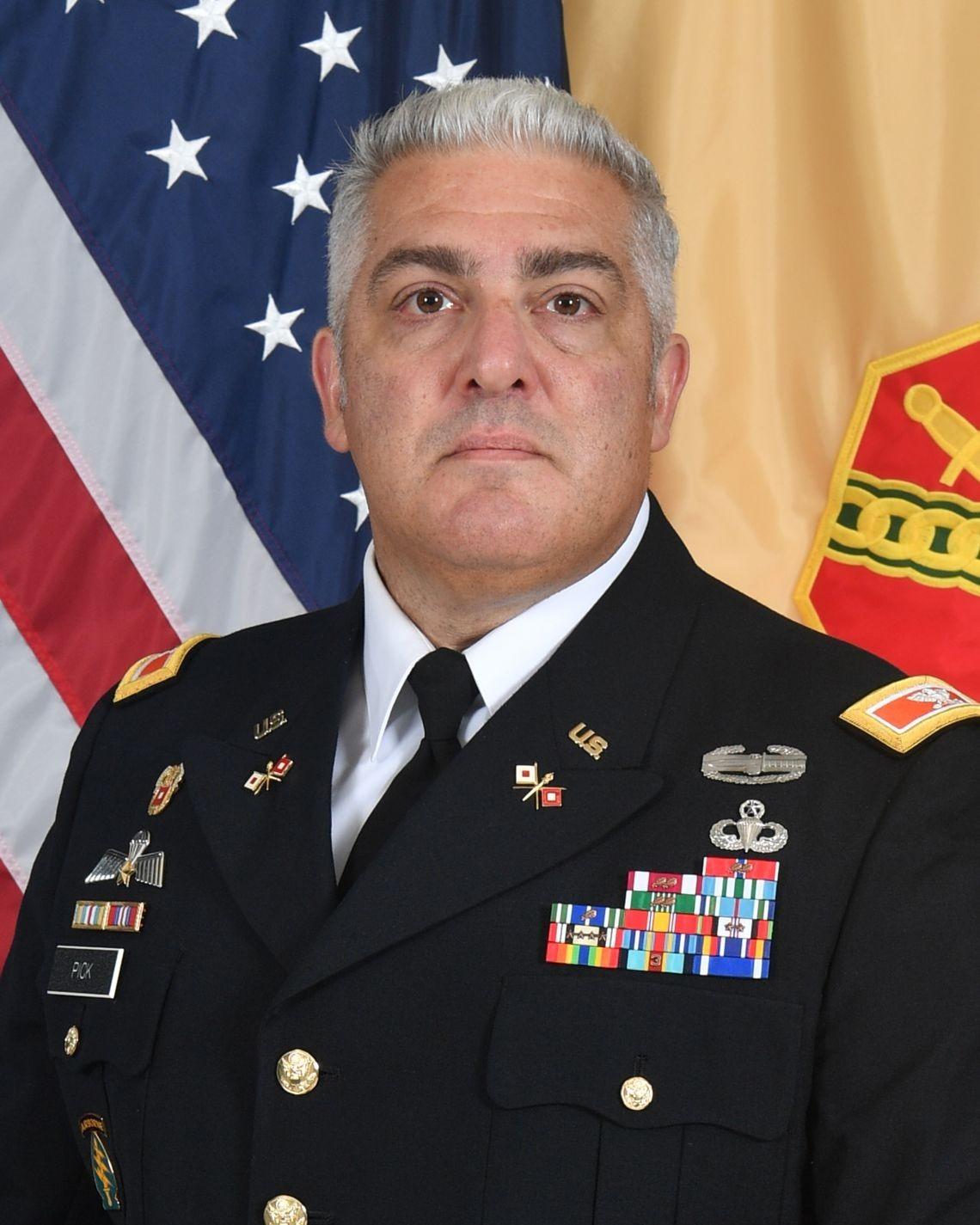 Col. Shaw S. Pick
